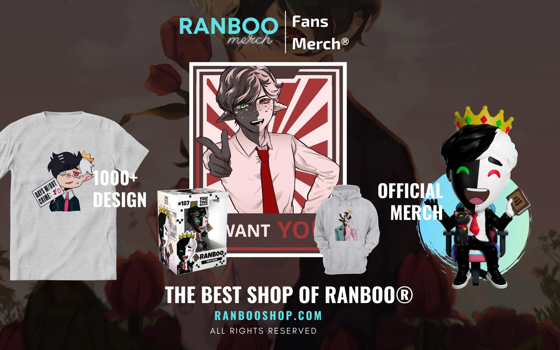 Ranboo Merch Web Banner - Ranboo Shop