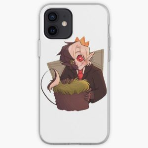 Ranboo fanart Stickers iPhone Soft Case RB2805 product Offical Ranboo Merch
