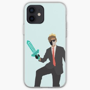 Ranboo dropart iPhone Soft Case RB2805 product Offical Ranboo Merch