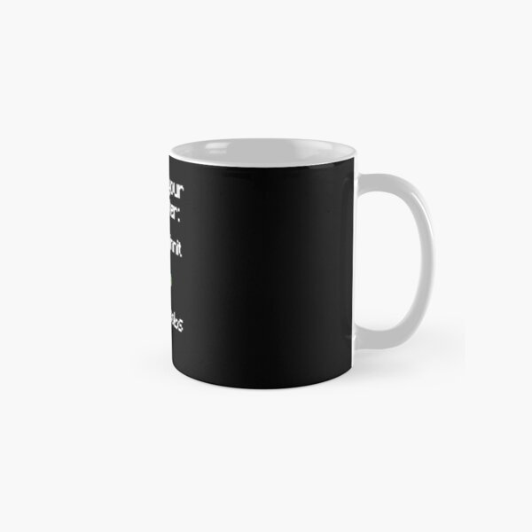 Choose your character - Ranboo Classic Mug RB2805 product Offical Ranboo Merch
