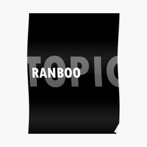 RANBOO Poster RB2805 product Offical Ranboo Merch