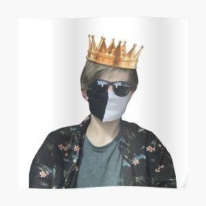 Ranboo king  Poster RB2805 product Offical Ranboo Merch