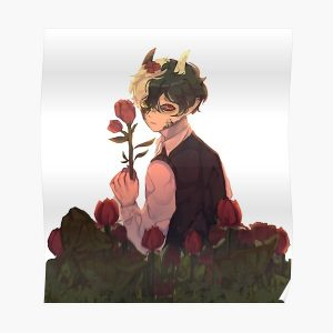 Ranboo romantic demon Poster RB2805 product Offical Ranboo Merch