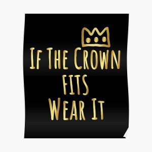 If The Crown Fits Wear It - Ranboo My Beloved  Poster RB2805 product Offical Ranboo Merch