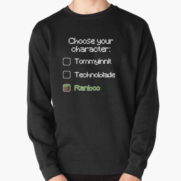 Choose your character - Ranboo (2) Pullover Sweatshirt RB2805 product Offical Ranboo Merch