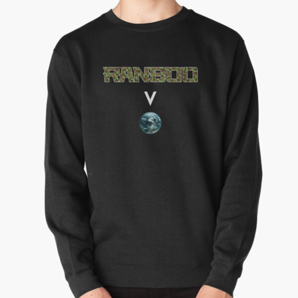 Ranboo above the world - Minecraft Pullover Sweatshirt RB2805 product Offical Ranboo Merch