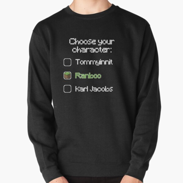 Choose your character - Ranboo Pullover Sweatshirt RB2805 product Offical Ranboo Merch