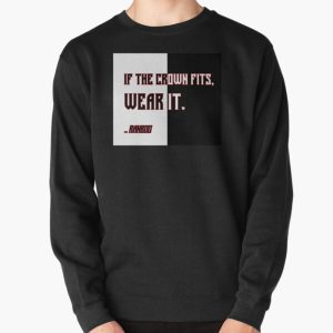 Ranboo Minecraft - If the crown fits 4 Pullover Sweatshirt RB2805 product Offical Ranboo Merch