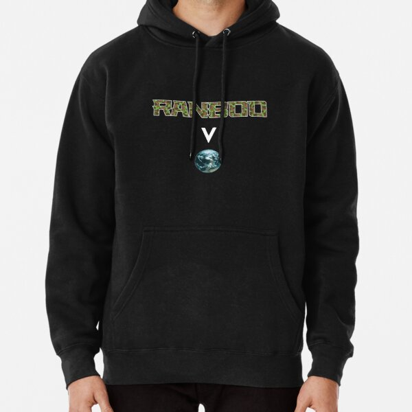 Ranboo above the world - Minecraft Pullover Hoodie RB2805 product Offical Ranboo Merch