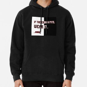 Ranboo Minecraft - If the crown fits 4 Pullover Hoodie RB2805 product Offical Ranboo Merch