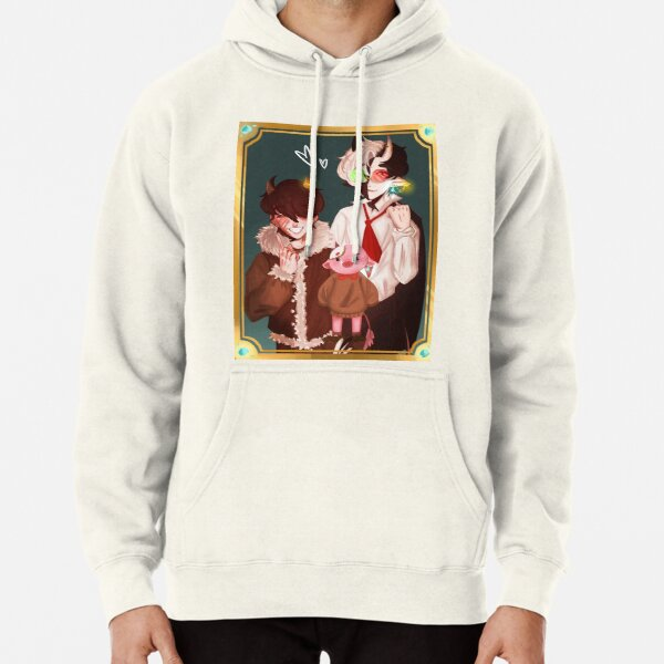Ranboo Tubbo Technoblade family portrait Bench Trio Pullover Hoodie RB2805 product Offical Ranboo Merch