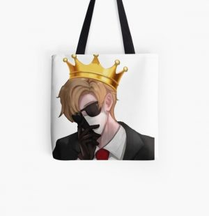 Ranboo Merch,RANBOO All Over Print Tote Bag RB2805 product Offical Ranboo Merch