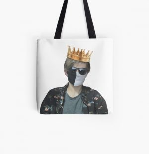 Ranboo king  All Over Print Tote Bag RB2805 product Offical Ranboo Merch