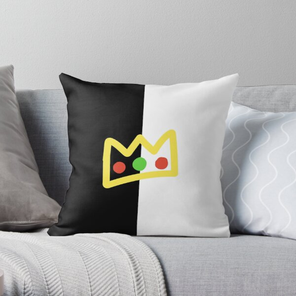 ranboo crown half (long version) Throw Pillow RB2805 product Offical Ranboo Merch