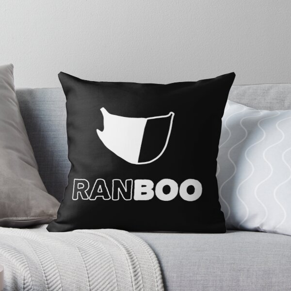 Ranboo my beloved Throw Pillow RB2805 product Offical Ranboo Merch