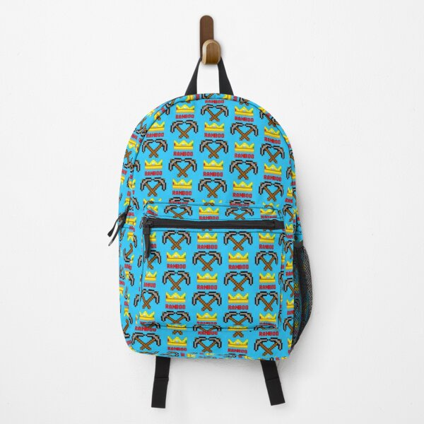 Ranboo Pickaxes Backpack RB2805 product Offical Ranboo Merch