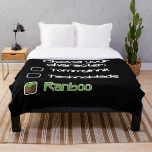 Choose your character - Ranboo (2) Throw Blanket RB2805 product Offical Ranboo Merch