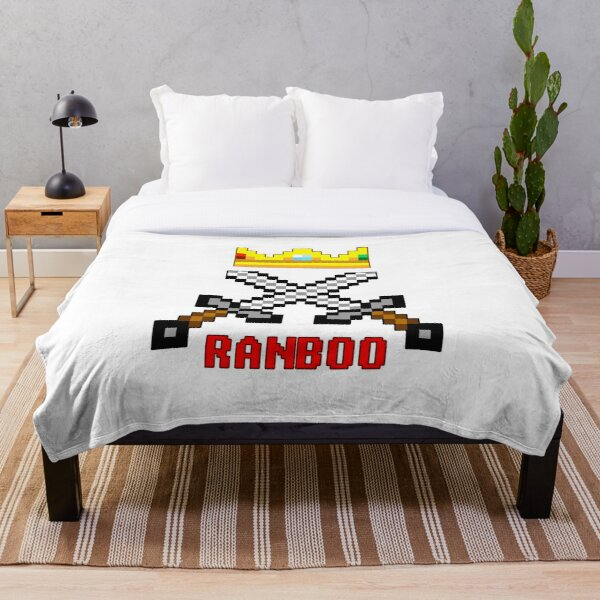 Ranboo Swords Throw Blanket RB2805 product Offical Ranboo Merch
