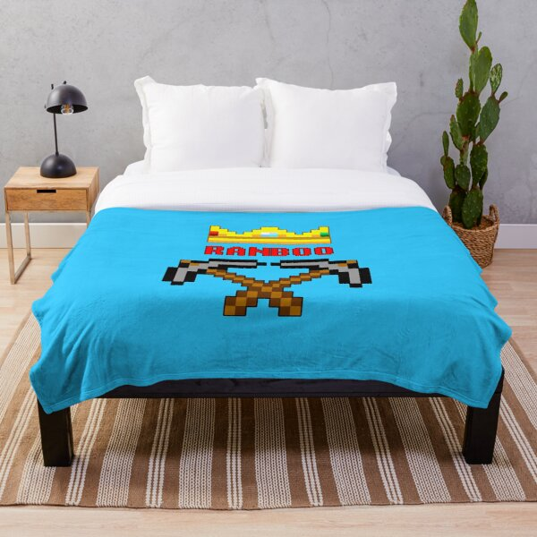 Ranboo Pickaxes Throw Blanket RB2805 product Offical Ranboo Merch