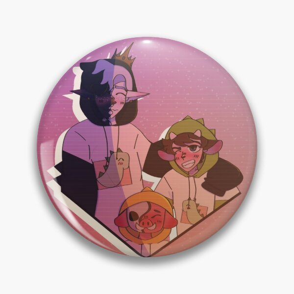 Ranboo, Tubbo & Michael  Pin RB2805 product Offical Ranboo Merch