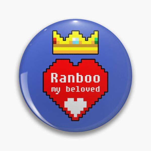 Ranboo My Beloved Pin RB2805 product Offical Ranboo Merch