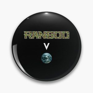 Ranboo above the world - Minecraft Pin RB2805 product Offical Ranboo Merch