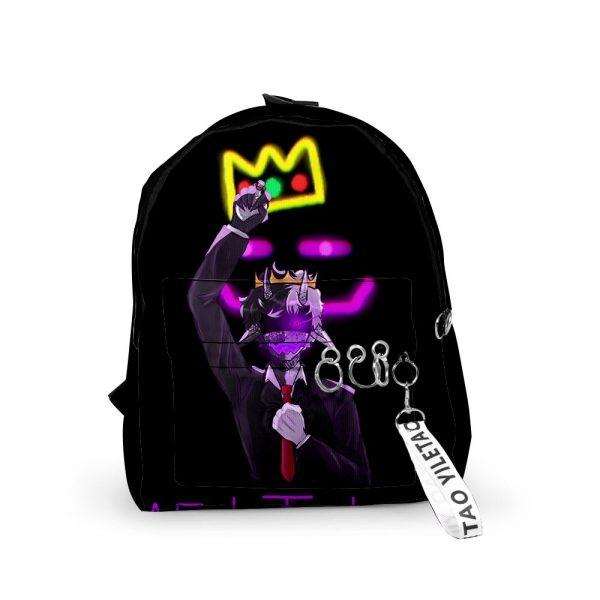 2021 3D Dream Ranboo Fashion Men Women Backpack Fabric Oxford hanging buckle Style Girls Child School 1 - Ranboo Shop