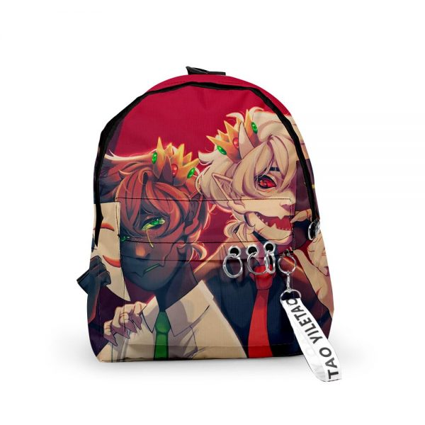 2021 3D Dream Ranboo Fashion Men Women Backpack Fabric Oxford hanging buckle Style Girls Child School 2 - Ranboo Shop