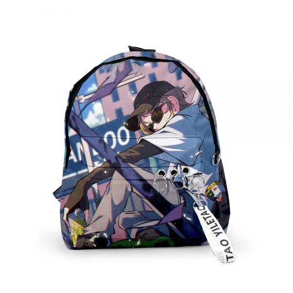 2021 3D Dream Ranboo Fashion Men Women Backpack Fabric Oxford hanging buckle Style Girls Child School 4 - Ranboo Shop