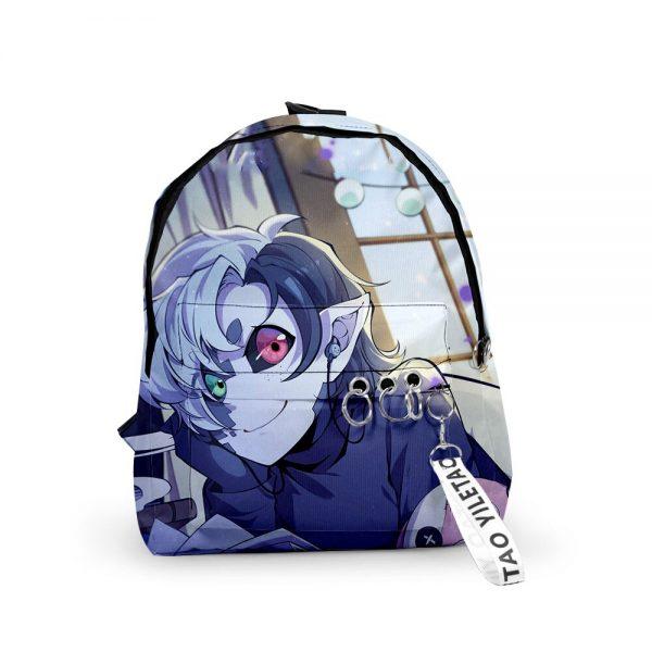 2021 3D Dream Ranboo Fashion Men Women Backpack Fabric Oxford hanging buckle Style Girls Child School 5 - Ranboo Shop