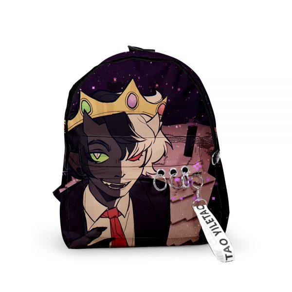 2021 3D Dream Ranboo Fashion Men Women Backpack Fabric Oxford hanging buckle Style Girls Child School - Ranboo Shop