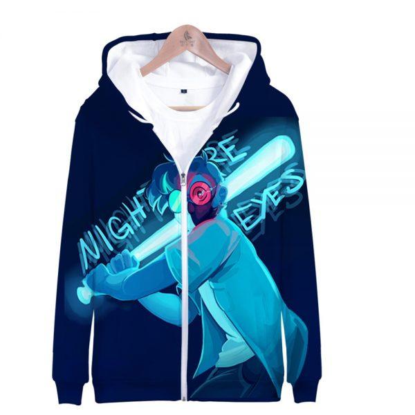 Ranboo 3D Printed Zipper Hoodies Women Men Fashion Long Sleeve Hooded Sweatshirt Hot Sale Streetwear Clothes 1 - Ranboo Shop