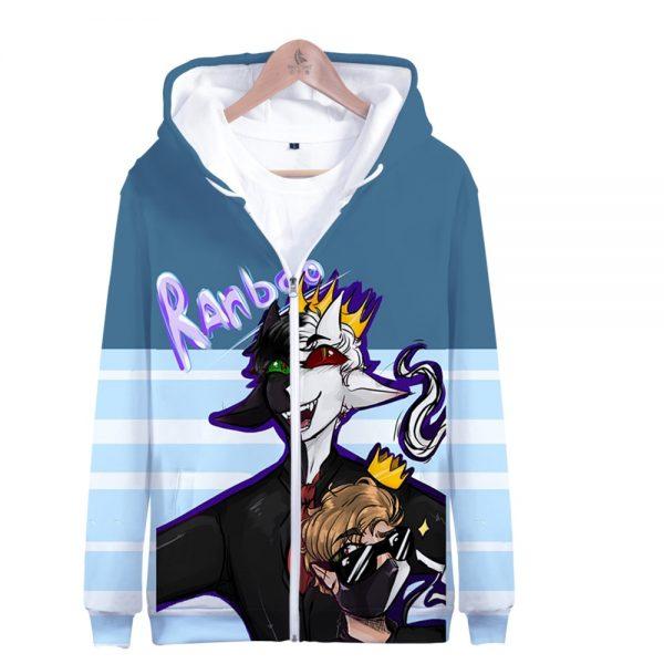 Ranboo 3D Printed Zipper Hoodies Women Men Fashion Long Sleeve Hooded Sweatshirt Hot Sale Streetwear Clothes 2 - Ranboo Shop