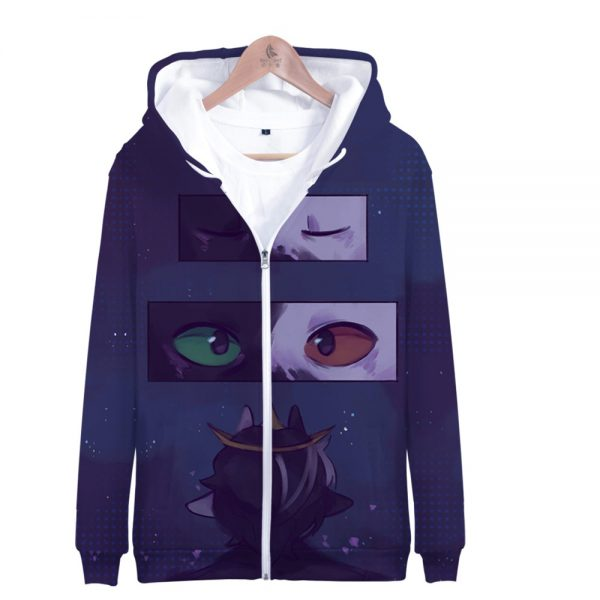 Ranboo 3D Printed Zipper Hoodies Women Men Fashion Long Sleeve Hooded Sweatshirt Hot Sale Streetwear Clothes 3 - Ranboo Shop