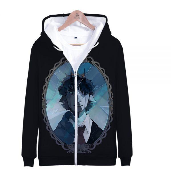 Ranboo 3D Printed Zipper Hoodies Women Men Fashion Long Sleeve Hooded Sweatshirt Hot Sale Streetwear Clothes 4 - Ranboo Shop